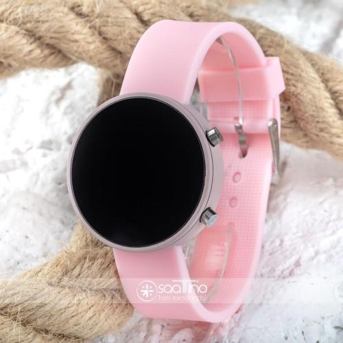 SaaTTino Led Watch Toz Pembe Renk Genç Kız Büyük Çocuk Kol Saati ST-303795