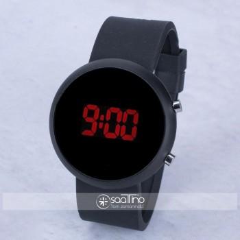 SaaTTino Unisex Tuşlu Led Kadın Kol Saati Silikon Bileklik ST-303958