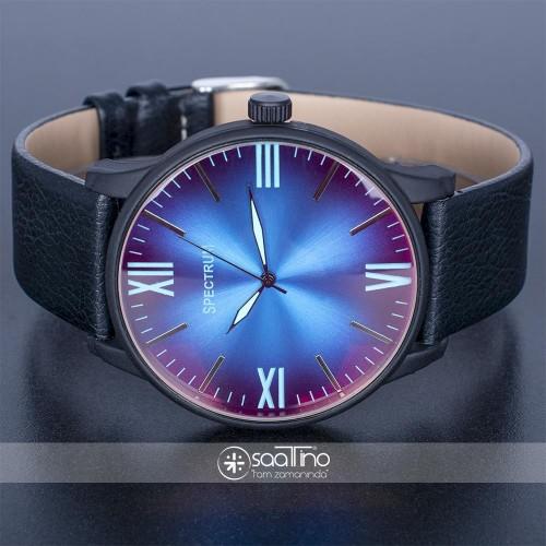 Spectrum COUNTRY SİYAH Deri Kordon Renkli Cam Spor Erkek Saat ST-303742