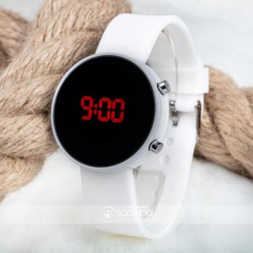 Spectrum! Watch Led White Unisex Silikon Bileklik Led Dijital Kol Saati ST-303480