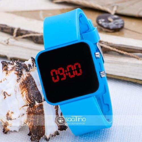 SPECTRUM WATCH Mavi Renk Dijital Led Ekran Mini Unisex Kol Saat ST-303614