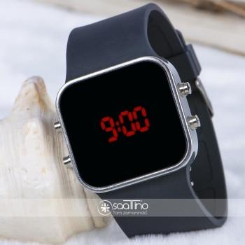 Spectrum Watch Silver Renk Siyah Kordon NICKEL FREE Dijital Kol Saati ST-303748
