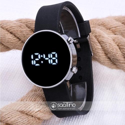 Spectrumwatch Led Dijital Orjinal Kol Saat Siyah Silikon Bileklik ST-303564